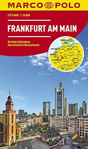 MARCO POLO Cityplan Frankfurt am Main 1:16 000 (MARCO POLO Citypläne)
