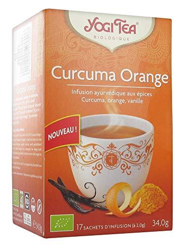 Yogi Tea Organic Turmeric Orange 17 Sachets