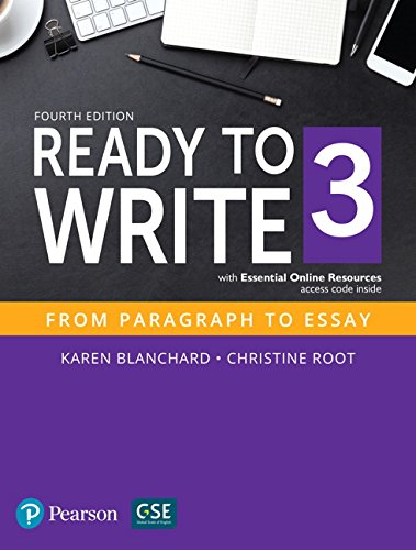 Ready to Write 3 with Essential Online Resources (4th Edition)