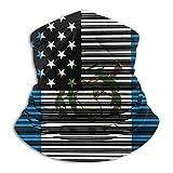 Bklzzjc Gaiter Neck Bar Codificado EE. UU. Bandera de Guatemala Magic Scarfoft Cara de Camping Colorido Neck Gaiter Deportes Elegante Protección Solar Adulto