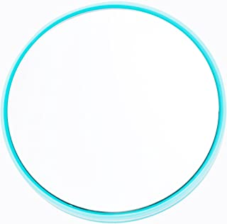 Danielle Enterprises 20X High Magnification Suction Mirror, Mini, Turquoise
