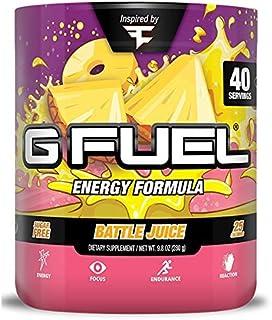 G Fuel Faze Battle Juice Tub (40 Servings) Elite Energy and Endurance Formula Inspired by Faze Clan