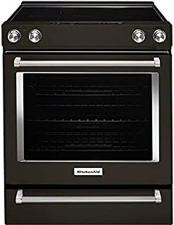 Best kitchenaid gas range black stainless Reviews