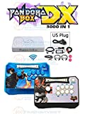Pandora Box DX Wireless Game Controller Joystick Set with 3000 in 1 Games 2 Players Wireless Stick with Sanwa joysticks and Buttons