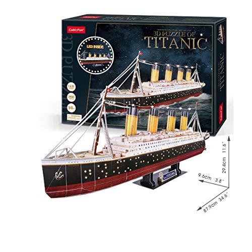 CubicFun Puzzle 3D Titanic LED [Puzzle]