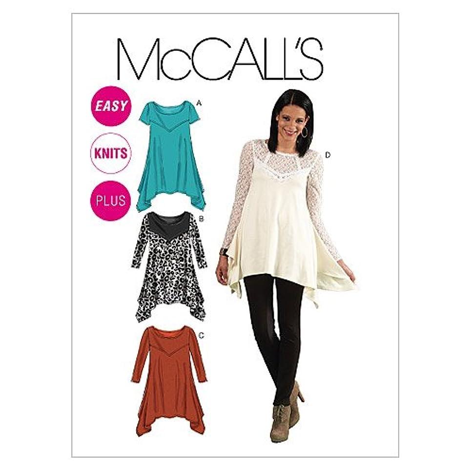 McCall's Patterns M6398 Misses'/Women's Tunics, Size RR (18W-20W-22W-24W)