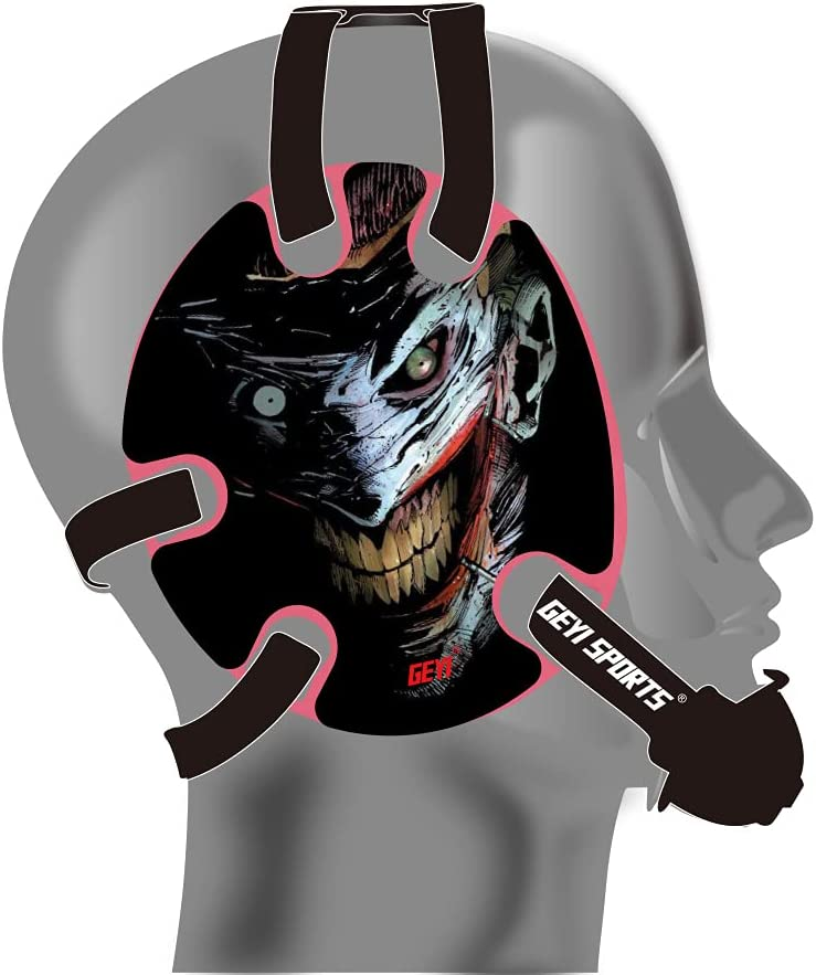 Geyi Wrestling Headgear Sacramento Mall with Joker Decals The Direct sale of manufacturer