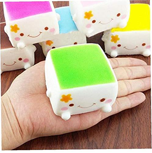 Newin Stern Squishy Spielzeug-Druck-Helfer Für Kinder Und Erwachsene Rising Langsam Creme Duftstofftiere Tofu