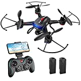 Holy Stone F181W 1080P WiFi FPV Drone with Wide-Angle HD Camera Live Video