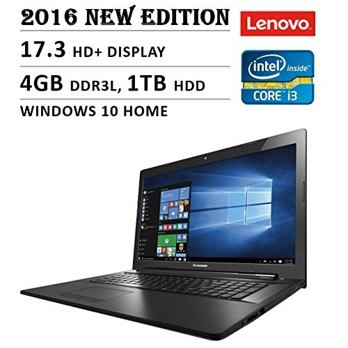 2016 Lenovo Premium High Performance 17.3-inch HD+ Laptop, Intel Core i3-5020U