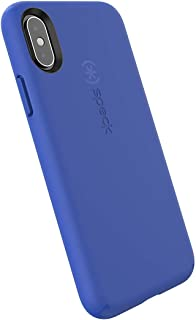Speck Products CandyShell Fit iPhone Xs/iPhone X Case, Blueberry Blue/Blueberry Blue (Renewed)