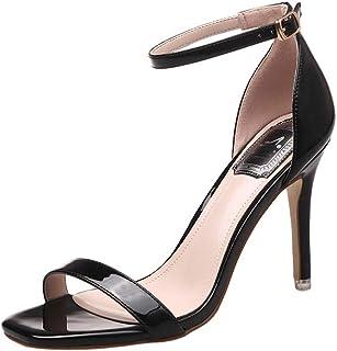 Charol Estacones Drtshcq Zapatos Mujer Para Zapatosy Amazon wvn0mN8