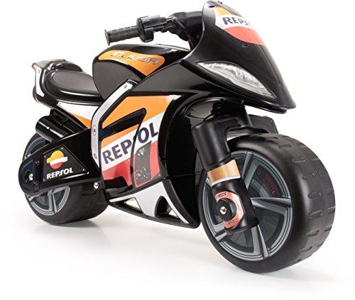 Injusa-6461 Moto Wind XL Licenciada a Batería de 6V para Niños de 3 Años con Acelerador En Puño, Color Negro, 88.9 x 57.1 x 38.6 (6461)