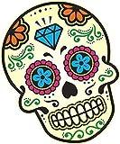 Mexicano Dia de los Muertos Calavera Motivo de Multi Color Vinilo Coche Moto Pegatina (Grandes) 200x150mm Aproximadamente
