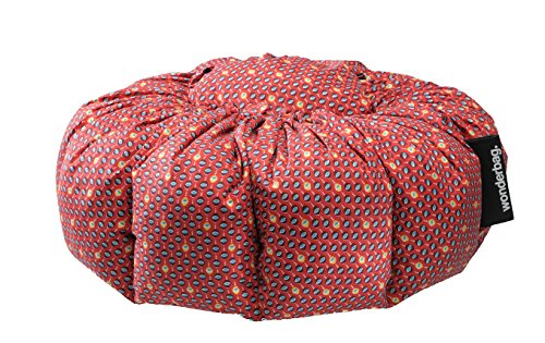 Wonderbag USA2  Non-Electric Portable Slow Cooker with Recipe Cookbook, Red Batik