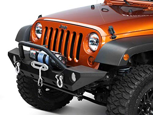 Barricade Trail Force HD Front Bumper for Jeep Wrangler JK 2007-2018