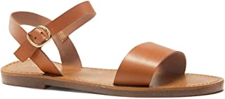 Women's Keetton Open Toes One Band Ankle Strap Flat Sandals