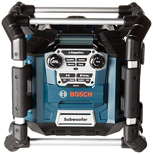Bosch Bluetooth Power Box Jobsite AM/FM Radio/Charger/Digital Media...