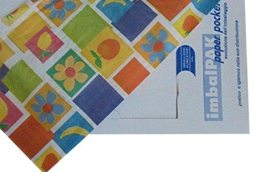 PZ 200 feuilles 40 x 60 Papier pour aliments en motifs variés Food Paper Leaves