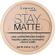Rimmel London Stay Matte Long Lasting Pressed Powder - 005 Silky Beige by Rimmel