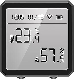 Wifi Bluetooth Hygrometer Thermometer Vochtigheid Temperatuursensor Gauge Remote App Alexa Google Assistent Laag Stroomver...