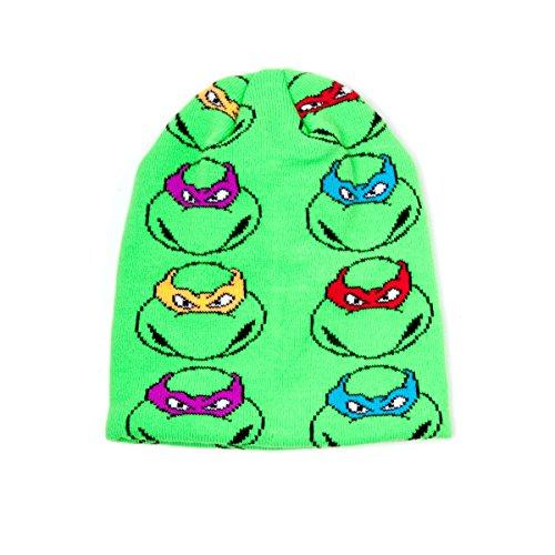 Bonnet 'Teenage Mutant Ninja Turtles' - All 4 Turtles