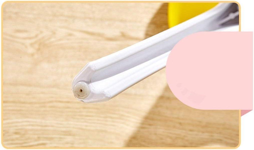 LRXG Chaise de Salle à Manger, ménage Creative Chaise en Plastique Simple Dossier Europe du Nord Enfants Salon de l'adulte Chambre (Color : Yellow) Black