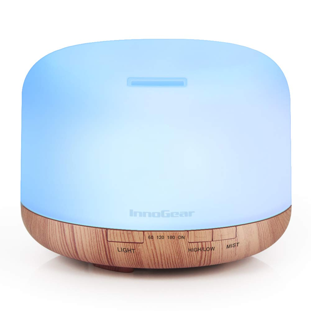 InnoGear Aromatherapy Essential Humidifier Waterless