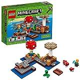 LEGO Minecraft - Isla Champiñón, Juguete Creativo Basado en el VideoJuego (21129) , colo...