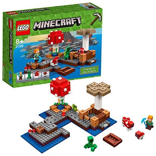 lego minecraft grzybowa wyspa smyk