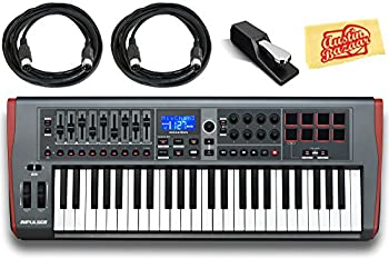 Novation Impulse 25 Keyboard Bundle w/ Sustain Pedal, MIDI Cables review