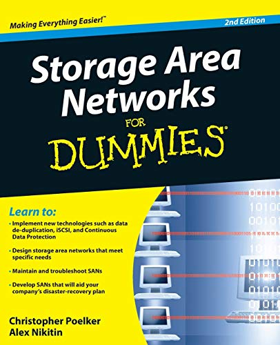 Price comparison product image Storage Area Networks For Dummies