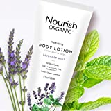 Nourish Organic | Hydrating Body Lotion - Lavender Mint | GMO-Free, Cruelty Free, Organic (8oz)