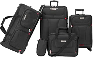 American Explorer Softside Spinner Luggage - 5 Piece set