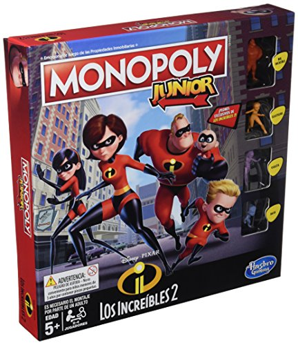 Monopoly- Junior Increibles (Hasbro E1781105)