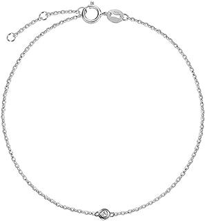 minimalist diamond bracelet
