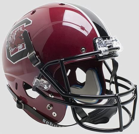 12 inch Fan Creations NCAA South Carolina Fighting Gamecocks Unisex University of South Carolina Authentic Helmet Team Color