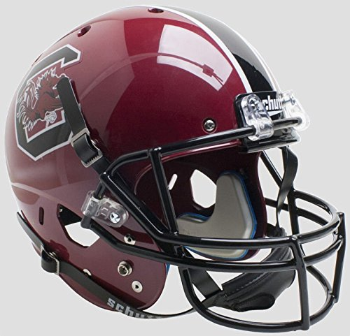 Schutt NCAA South Carolina Gamecocks Replica XP Football Helmet, Cardinal Alt. 1