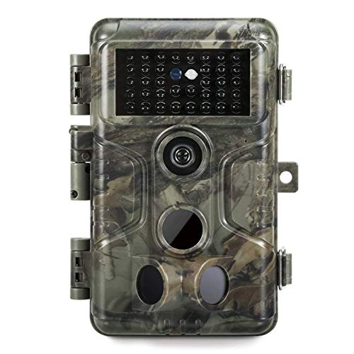 GardePro A3 Trail Camera (2020), 20MP, 1080P H.264 HD Video, Clear 100ft No Glow Infrared Night Vision, 0.1s Trigger Speed, 82ft Motion Detection,...