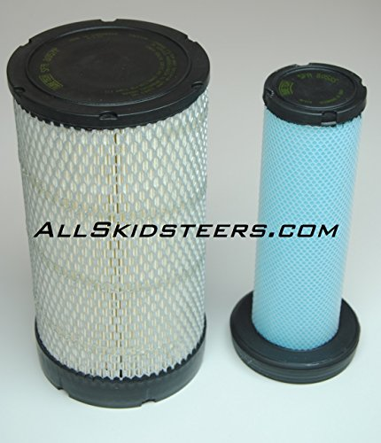 Engine Air Filter Kit for Bobcat Skid Steers | Replaces OEM #s 6698058 & 6698057