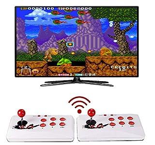 Consola Retro inalámbrica, Similar Pandora Box, más de 2000 Juegos, Retro Consola Maquina recreativa Arcade, Incluye 2 joysticks, Guardado de Partida, Favoritos,Mame,Neogeo,Megadrive,GBA,NES,SNES