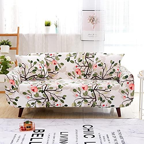 WXQY Funda de sofá Impresa de Lujo elástica Todo Incluido Antideslizante Resistente al Desgaste Estilo nórdico clásico Funda de sofá Funda de sofá A9 3 plazas