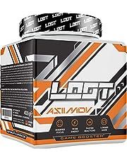LOOT® - Premium Energy Drink Poeder met Flow-State® Formule   50 porties (400 g) met Cafeïne   20 Ingrediënten   Uniek Design   Concentratie en energieformule   Asiimov