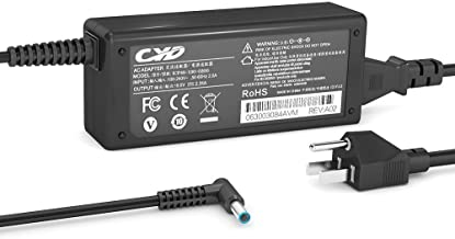 CYD 45W PowerFast-Replacement for Laptop-Charger HP 719309-001 719309-003 721092-001 15-f211wm 15-f337wm 17-g121wm 17-g119dx Pavilion x2 11-h000 11t-h000 13-p110nr HSTNN-CA40 Notebook Power-Adapter HP