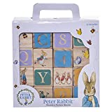 Diseños de arco iris - Peter Rabbit - ABC Wooden Blocks