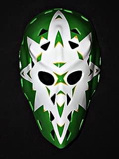 1:1 Custom Vintage Fiberglass Roller NHL Ice Hockey Goalie Mask Helmet Gary Edwards HO23