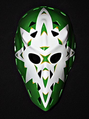 Price comparison product image tripple_777 1:1 Custom Vintage Fiberglass Roller Ice Hockey Goalie Mask Helmet Gary Edwards HO23