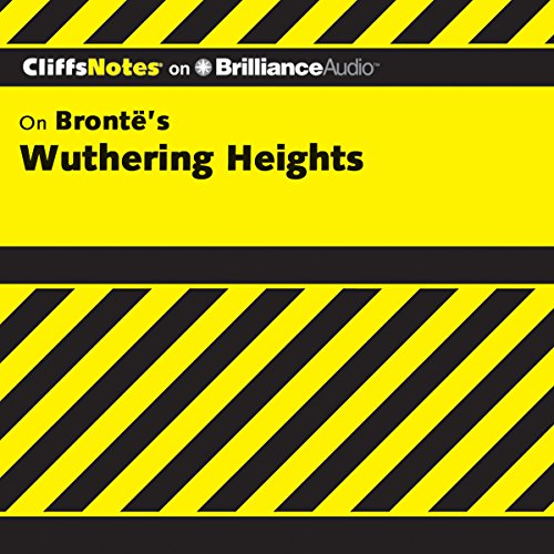 Wuthering Heights: CliffsNotes audiobook cover art