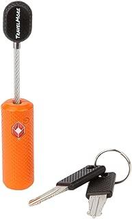 TSA Approved Luggage Locks With Key For Travel – Flexible Lock Keyed Alike (1, 2 & 4 Pack)