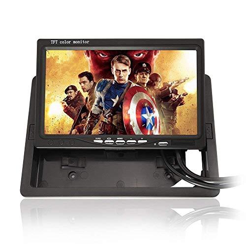 (800 * 480 350: 1 Kontrastverhältnis) 7 Zoll TFT Farbe LCD Auto Monitor Computer HD digitale VGA / AV-Schnittstelle (Unterstützung als Computer-Bildschirm) Vollfarb-LED-Hintergrundbeleuchtung Display-Unterstützung 1024 * 768 1280 * 1024 Eingangsquelle für Back-up-Kamera
